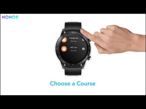 How to enjoy running course on the #HONORMagicWatch2