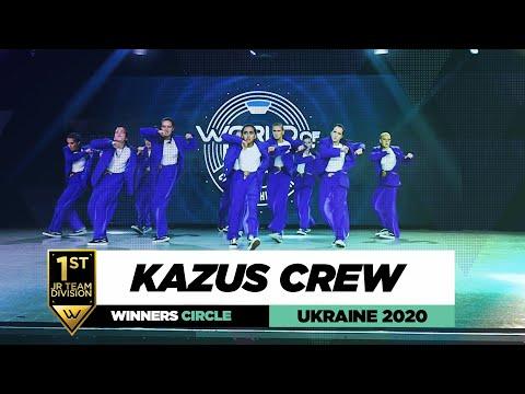 KaZus crew | 1st Place Jr Team | Winners Circle | World of Dance Ukraine 2020 | #WODUA20