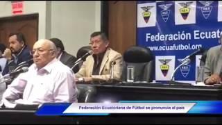 Federación Ecuatoriana de Fútbol cesa del cargo a Gustavo Quinteros