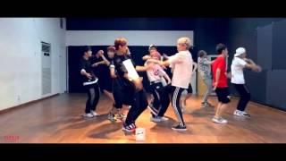 [Mirrored and Slowed 75%] Seventeen 'Mansae' Dance Practice -  세븐틴 '만세' width=