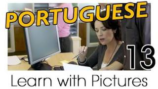 Learn Brazilian Portuguese with Pictures -- Brazilian Portuguese for the Workplace