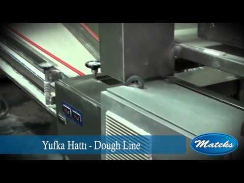 Yufka makinası, Yufka makinesi, Yufka hattı, Yufka üretimi - Mateks Makina