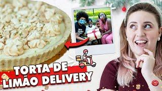 TORTA DE LIMÃO LEVÍSSIMA QUE DERRETE NA BOCA! | Especial de Natal (com Família Quilombo)