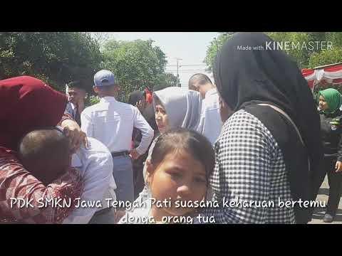 PDK SMK N Jawa Tengah Pati. Pertemuan dengan kelua