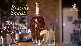How to make a simple Brandy Smash - St Agnes Brandy Cocktail Recipes