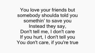 Drake - Take Care ft. Rihanna Lyrics