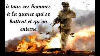 """Rap Français mélancolique ( hommage aux militaires) """"Petit frère"""" Sin Dy"""