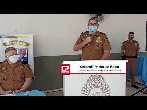 Comandante Geral da Polícia Militar do Paraná fala da família Kamakawa de PMs - Cidade Portal