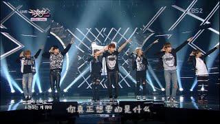 【韩简中字】BTS - Boy In Luv(男子汉)2014.3.14 LIVE