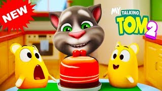 My Talking Tom 2 Pets Squeak Invert  Black and White Colors Reaction Compilation v1