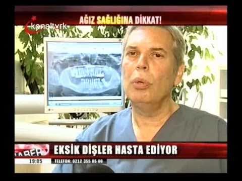 Eksik Dişler Hastalık sebebi - İmplant Tedavisi ile önleyebilirsiniz. Dr. Nihat Tanfer