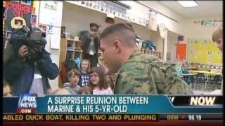 Heartwarming Video: Reunion of Marine and 5 Year Old Sister