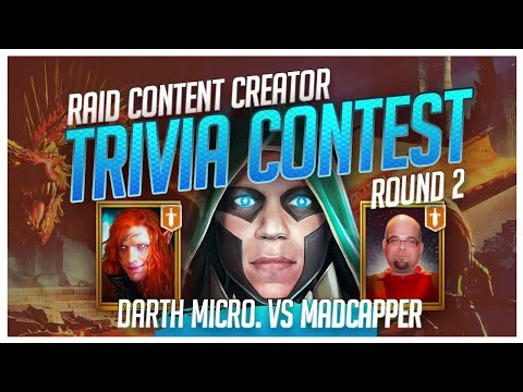 RAID | Trivia Contest | R2 | DarthMicro vs MadCapper!