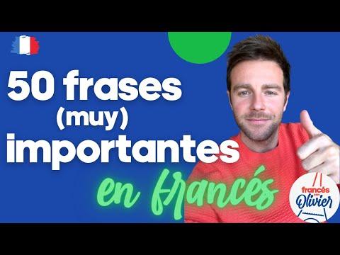 50 frases (muy) importantes en francés para principiantes