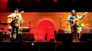 Richard Bona et Raul Midon 1 (Festival Jazz in Aiacciu 2 juillet 2011)