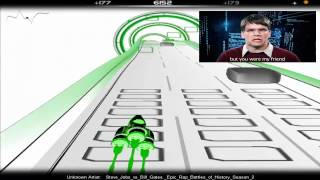 Steve Jobs vs Bill Gates. Epic Rap Battles of History Season 2 (Upgraded Gameplay)