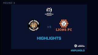 NPLW R3 - Eastern Suburbs vs. Lions FC Highlights