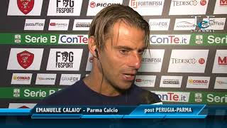 PERUGIA-PARMA 3-0: Emanuele Calaiò