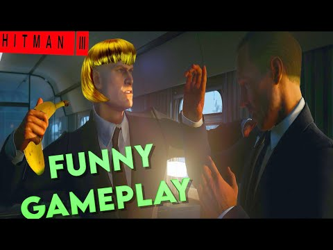 FUNNY  HITMAN 3  GAMEPLAY ENDING!