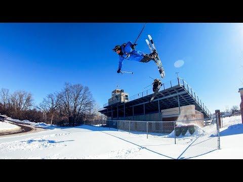 GoPro: Back to School Urban Skiing with Tom Wallisch