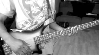 how to play chaka bam bam on bass/ Murder she wrote