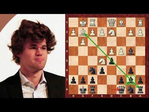 Amazing Chess Game: Vladimir Dobrov vs Magnus Carlsen : World Rapid Championship (2017) :Indian Game
