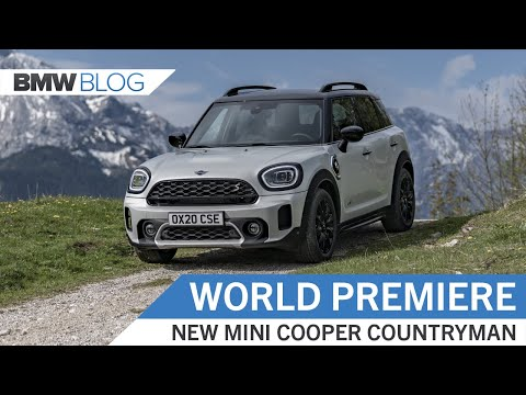 Meet The Facelifted MINI Countryman
