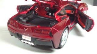 Unboxing: 1:18 2014 Chevrolet Corvette Stingray C7 by Maisto - The Model Garage