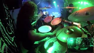CONFLICTED@God Is Death- Pedro-Pablo Puente F.-Live in Poland 2017 (Drum Cam)