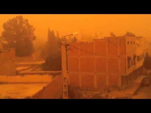 Oujda – 18 10 2012 –  tempete de sable