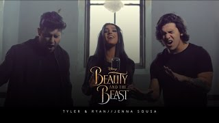Beauty and the Beast - Ariana Grande & John Legend (Cover by Jenna Sousa with Tyler & Ryan)