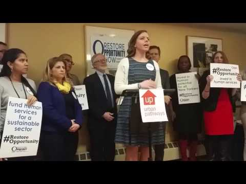Emily Miles - Restore Opportunity Now Press Conference 2-2-17