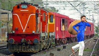 ट्रेन चोर Train Thief हिंदी कहानिय Hindi Kahaniya   रेल की कहानी Bedtime Moral Stories Fairy Tales