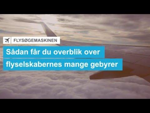 Sådan får du overblik over flyselskabernes mange gebyrer