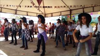 CIA de dança Escola Integral - Timber - Country