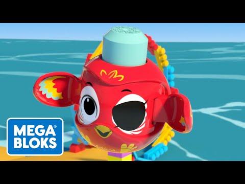 Auf der Suche nach dem Schatz - Mega Bloks | Fisher-Price Deutsch | Cartoons für Kinder