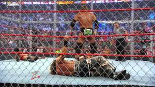 Hell in a Cell 2009, Triple H breaks ino the Devil's Playground