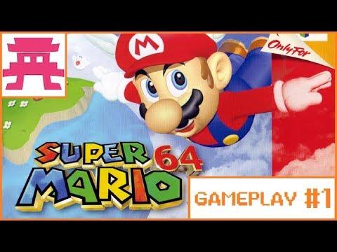 [GAMEPLAY] Super Mario 64 - El videojuego de tu infancia