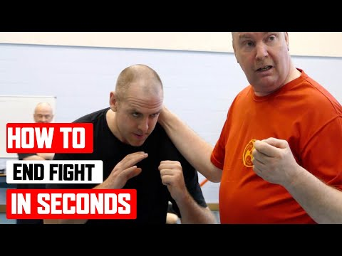 How to end fight in seconds Lesson 4 ✅ Wing Chun