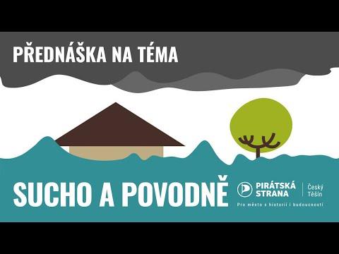 Přednáška o suchu a povodních