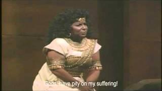 """""""Numi pieta"""" from Act I of Verdi's Aida (Aprile Millo)"""