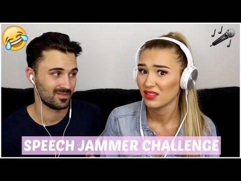 Speech Jammer Challenge With My Boyfriend | Shani Grimmond