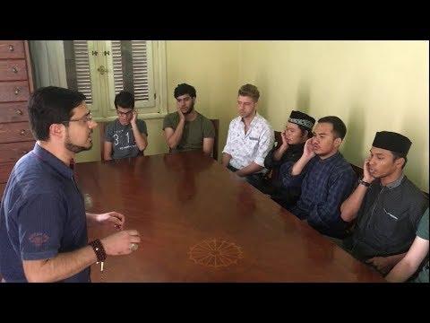 (أسماء الله الحسنى) كما أنشدها النقشبندي - أداء فرقة الحلقة بإشراف محمد ياسين المرعشلي