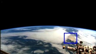 Alien Evidence! Nasa sighting Giant UFO Extraterrestrial Space ship. ISS Live feed 2015