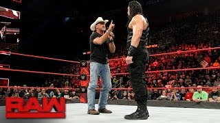 Shawn Michaels warns Roman Reigns about facing The Undertaker at WrestleMania: Raw, March 13, 2017