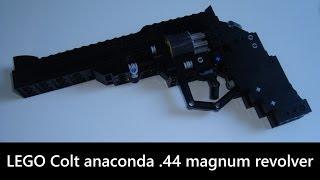 LEGO working revolver - rotating cylinder - Colt .44 magnum (FJ-m1113)