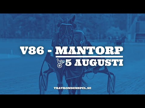 V86 Tips - Mantorp - 5 augusti 2020