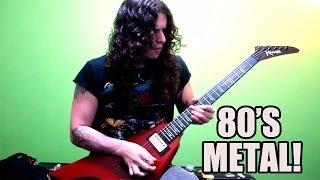 Charlie Parra - 80s Metal inspired guitar solo!!!