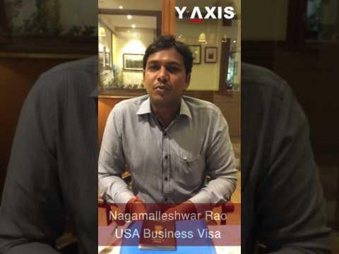 Nagamalleshwar Rao USA Business Visa PC Mohammed Ayub