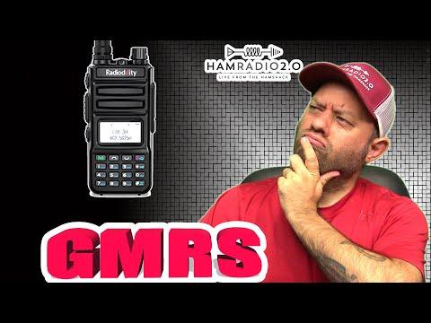 Radioddity GM-30 GMRS HT Walkie Talkie | Best GMRS Handheld Radio?